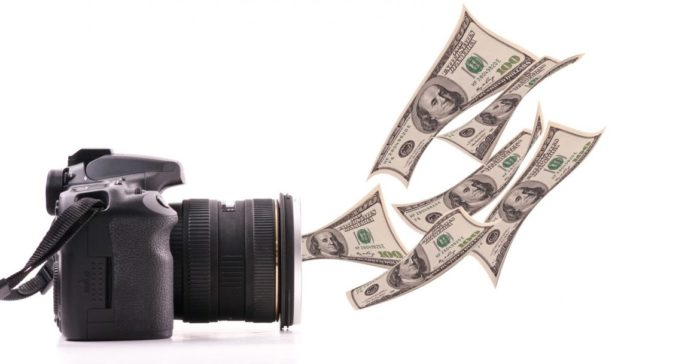 Деньги за фотографии