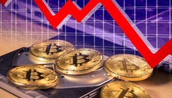 Биткойн упал на 9% после рекордного уровня выше 61 000 долларов