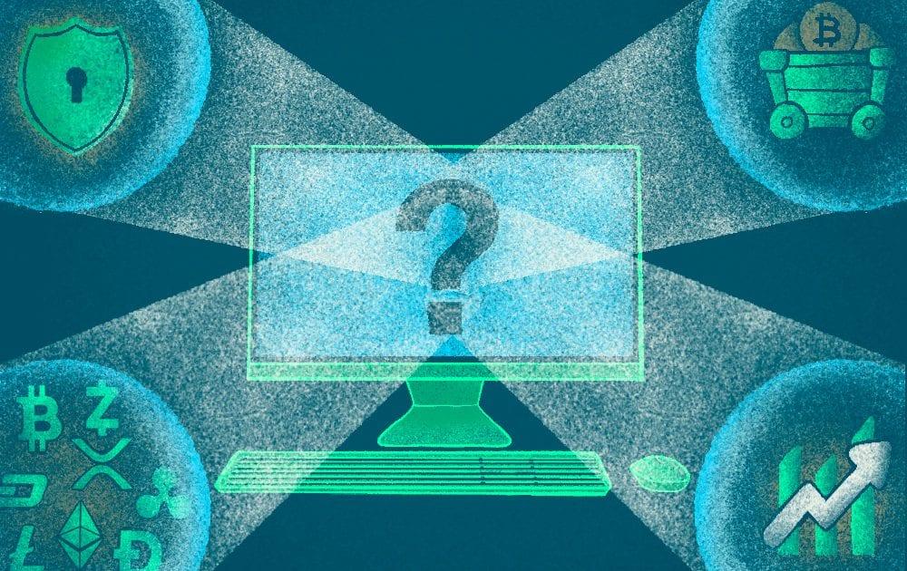 четыре вопроса, перед покупкой криптовалюты: